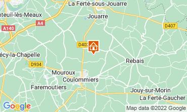 Mapa Marne la Vallée Casa de turismo rural/Casa de campo 107157