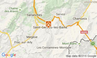Mapa Saint-Gervais-les-Bains Chal� 104941