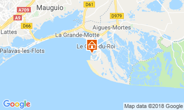 Mapa Le Grau du Roi Apartamentos 81038