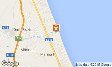 Mapa Giulianova Apartamentos 35266