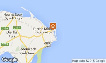 Mapa Djerba Apartamentos 58841