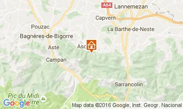 Mapa Bagn�res de Bigorre Casa de turismo rural/Casa de campo 76174