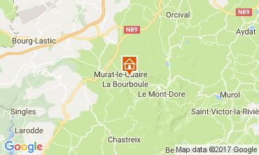 Mapa La Bourboule Chalé 111687