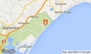 Mapa Saint Pierre la Mer Vivenda 101272