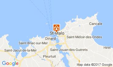 Mapa Saint Malo Apartamentos 111558