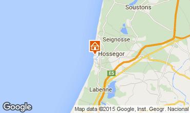 Mapa Hossegor Apartamentos 94324