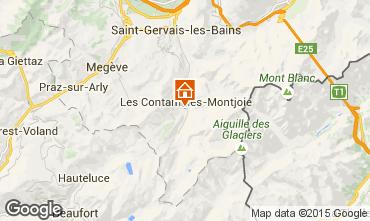 Mapa Les Contamines Montjoie Apartamentos 18006