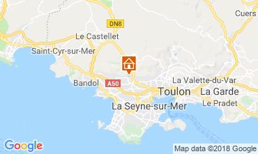 Mapa Ollioules Vivenda 117415