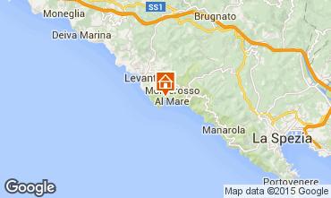 Mapa Monterosso al Mare Estúdio 61490