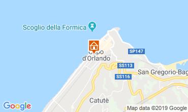 Mapa Capo d'Orlando Apartamentos 106132
