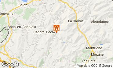 Mapa Bellevaux Hirmentaz La Chèvrerie Apartamentos 71879