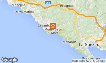 Mapa Monterosso al Mare Apartamentos 50061