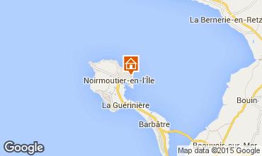 Mapa Noirmoutier en l'Île Vivenda 93515