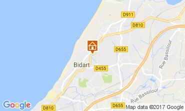 Mapa Biarritz Apartamentos 62374