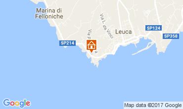 Mapa Santa Maria di Leuca Apartamentos 107977