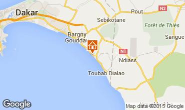 Mapa Toubab Dialaw Vivenda 68147