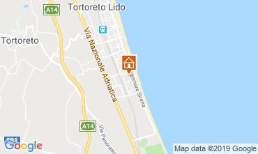 Mapa Tortoreto Apartamentos 96795