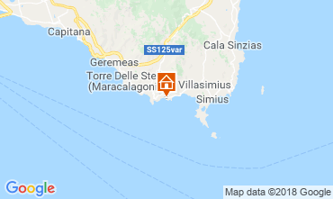 Mapa Villasimius Apartamentos 51993