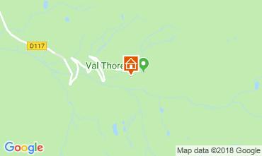 Mapa Val Thorens Apartamentos 116916
