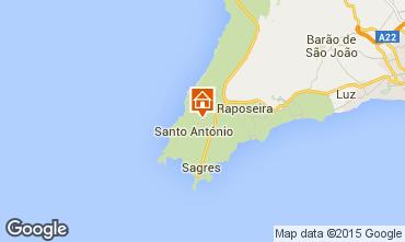 Mapa Sagres Casa de turismo rural/Casa de campo 81427
