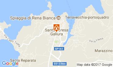 Mapa Santa Teresa di Gallura Estúdio 60775