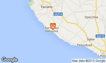 Mapa Ugento - Torre San Giovanni Apartamentos 97977