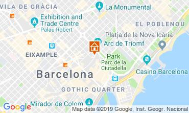Mapa Barcelona Apartamentos 118351