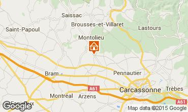 Mapa Carcassonne Casa de turismo rural/Casa de campo 95093