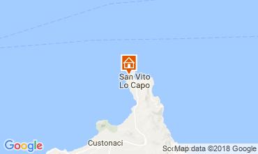 Mapa San Vito lo Capo Vivenda 113893