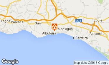 Mapa Albufeira Apartamentos 102566