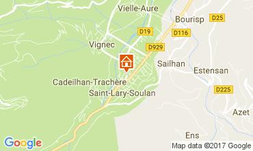 Mapa Saint Lary Soulan Apartamentos 110661
