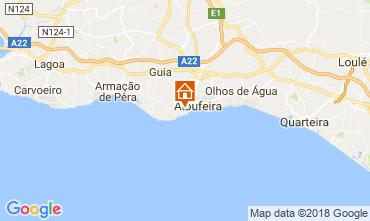Mapa Albufeira Apartamentos 115053