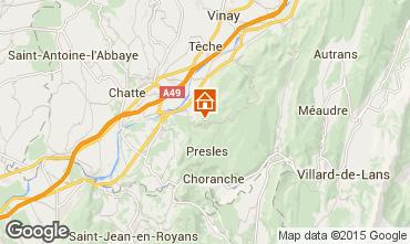 Mapa Villard de Lans - Corrençon en Vercors Chalé 52709