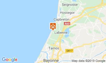 Mapa Capbreton Casa 119568