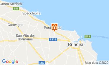 Mapa Brindisi Alojamento insólito/Moradia atípica  117050