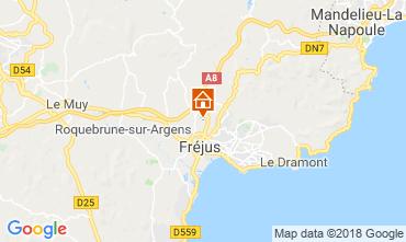 Mapa Fréjus Mobil Home 116061