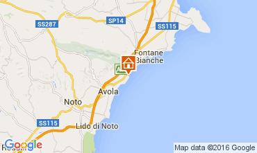 Mapa Avola Vivenda 93429