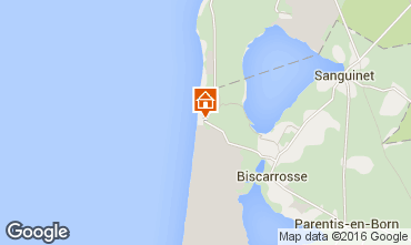 Mapa Biscarrosse Casa 53445