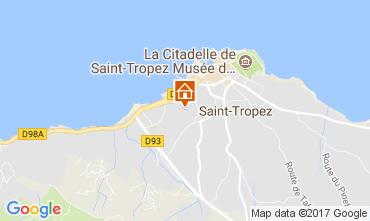 Mapa Saint Tropez Apartamentos 111442