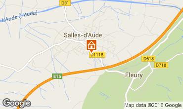 Mapa Salles-d'Aude Casa de turismo rural/Casa de campo 82952