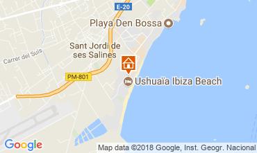 Mapa Ibiza Apartamentos 114237