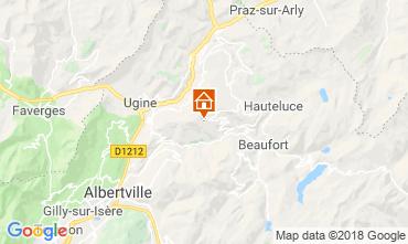Mapa Les Saisies Apartamentos 116762