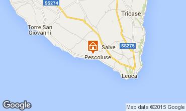 Mapa Pescoluse Vivenda 72212