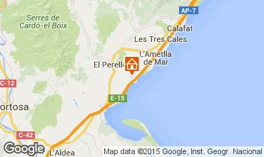 Mapa La Ametlla de Mar Casa 101313