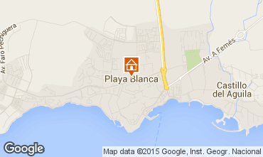 Mapa Playa Blanca Vivenda 55790