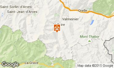 Mapa Valloire Apartamentos 50293