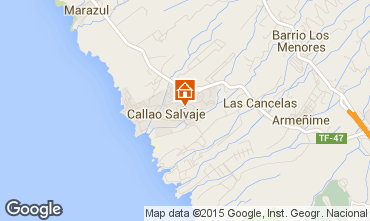Mapa Callao Salvaje Apartamentos 74846