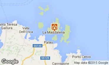 Mapa La Maddalena Estúdio 89150