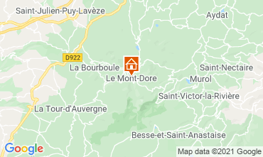 Mapa Le Mont Dore Apartamentos 3906