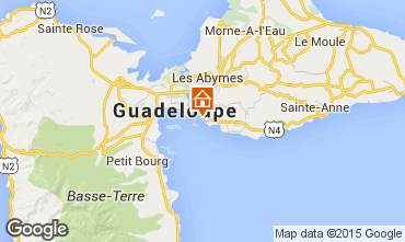 Mapa Gosier (Guadeloupe) Est�dio 8004